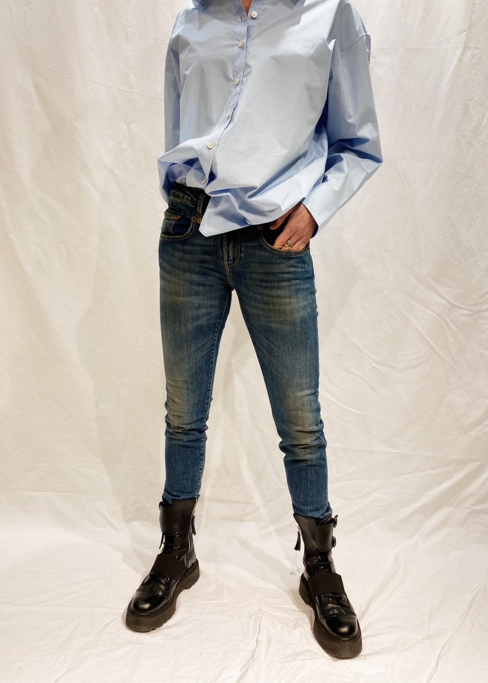 r13 r 13 boy skinny emmerson vintage blue
