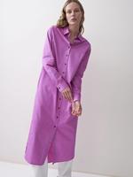 rikastudios rika studios gaia dress cotton viola