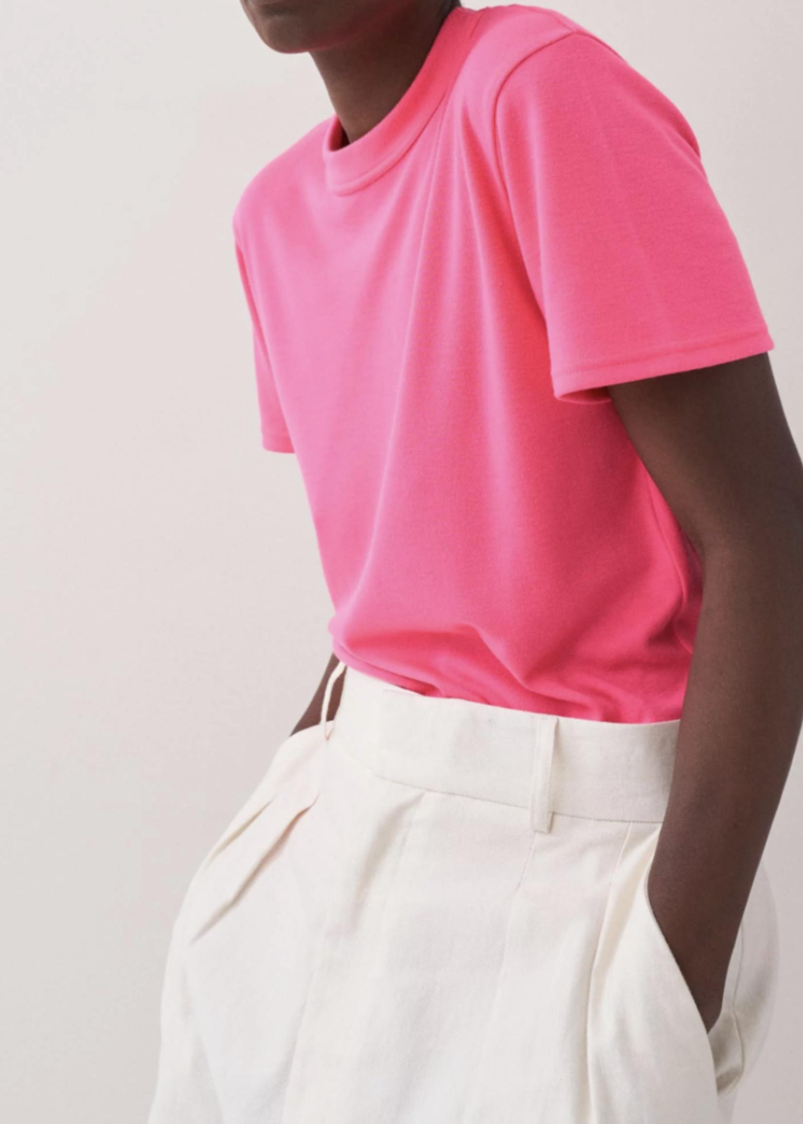 rikastudios rika studios mia tee polyester  pink