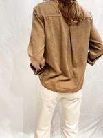 xirena xirena blaine shirt khaki