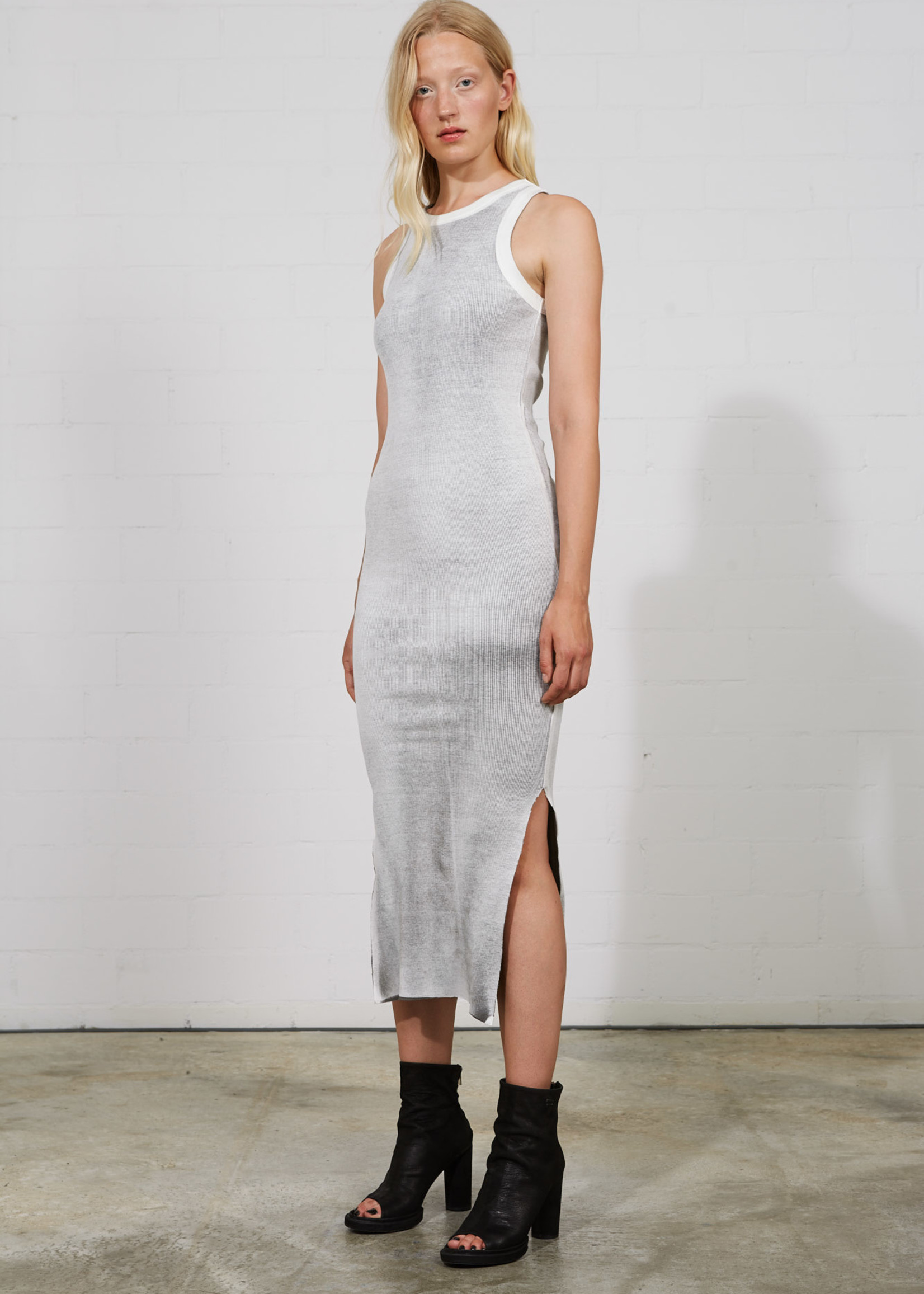 Thom krom Thom Krom dress white