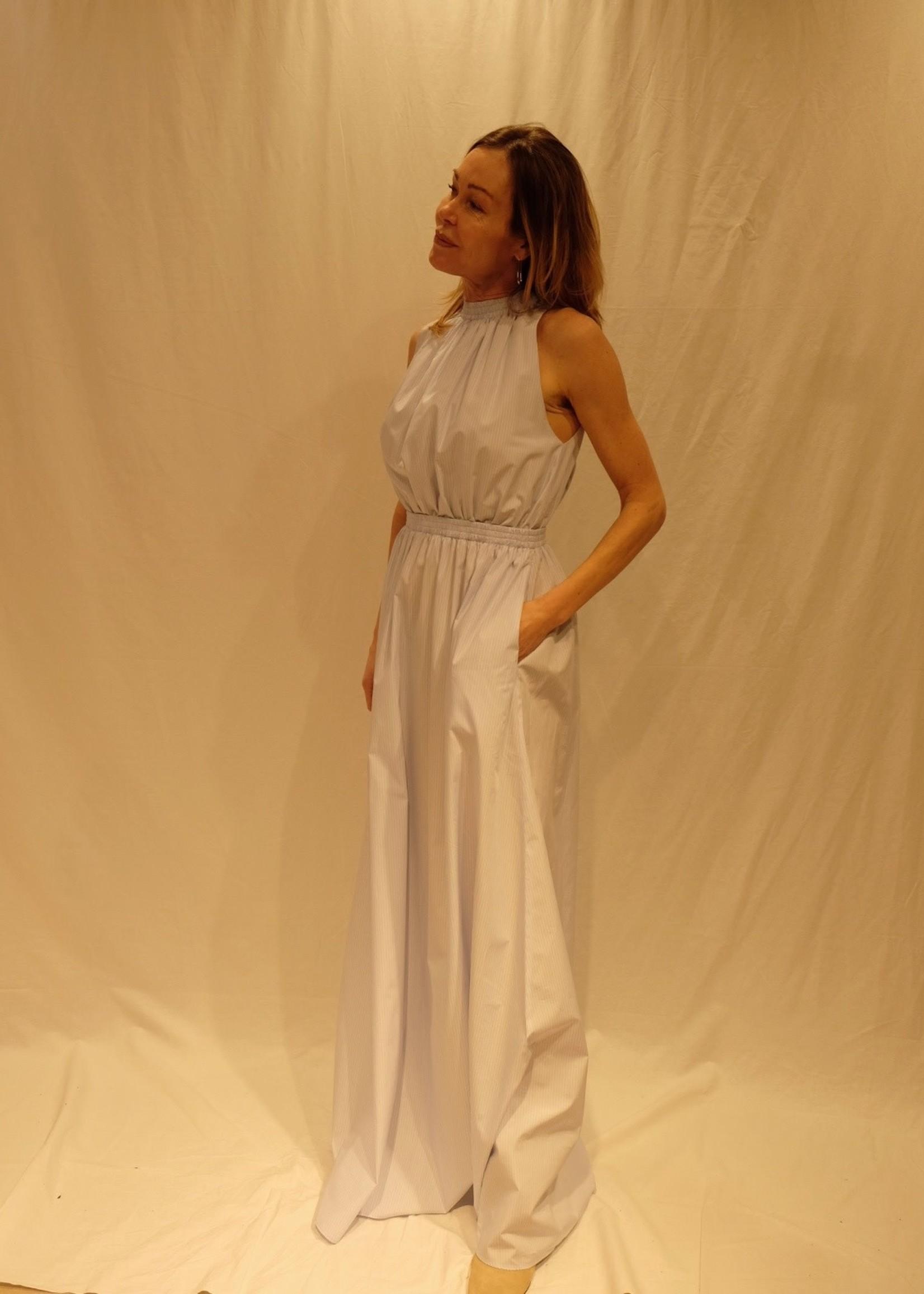 Via massini Via massini dress azzuro stripes
