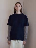 extremecashmere x Extreme cashmere x  t shirt , navy