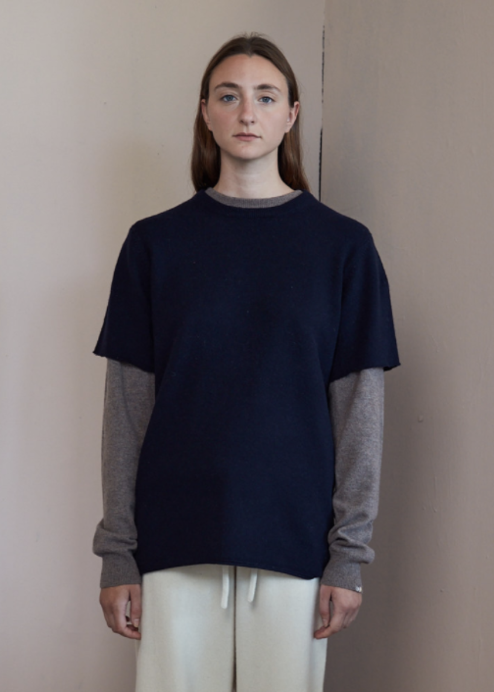 extremecashmere x Extreme cashmere x TEE navy