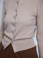 extremecashmere x extreme cashmere x little cardi ,beige