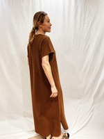 extremecashmere x Extreme cashmere x healing dress ,rust
