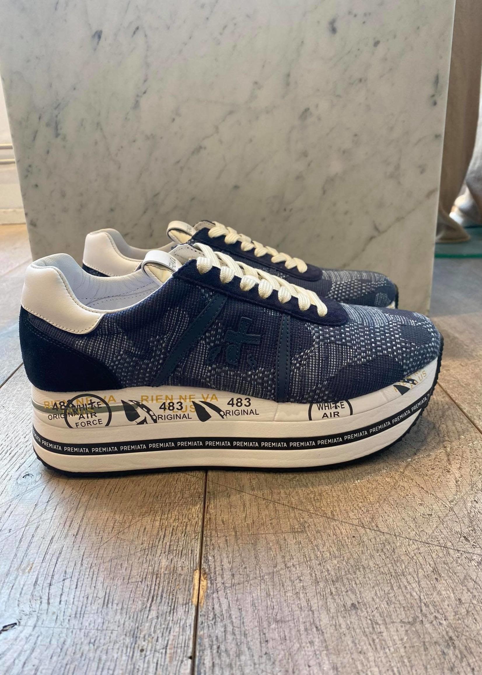 premiata Premiata sneaker Beth denim blue