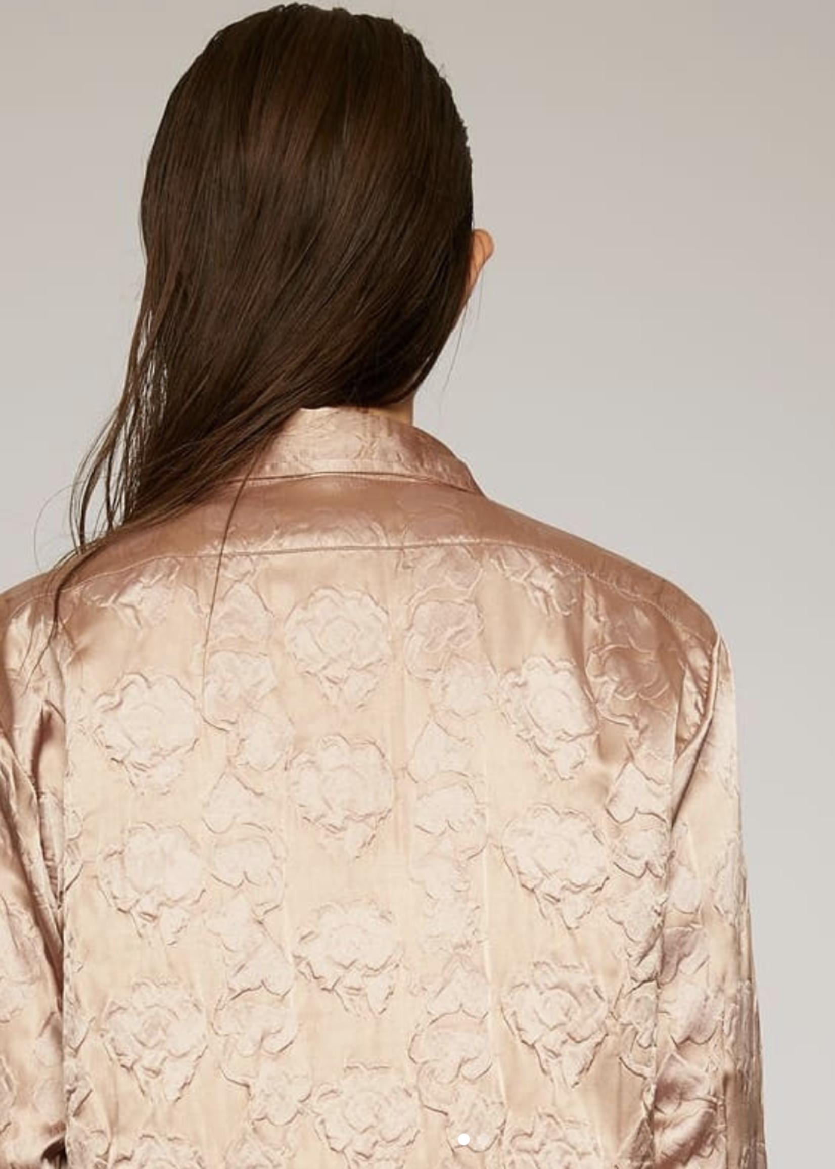 Acne Studios acnestudios blouse silky rose nude