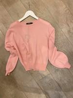 lisa yang lisa yang cashmere sweater cotton candy pink