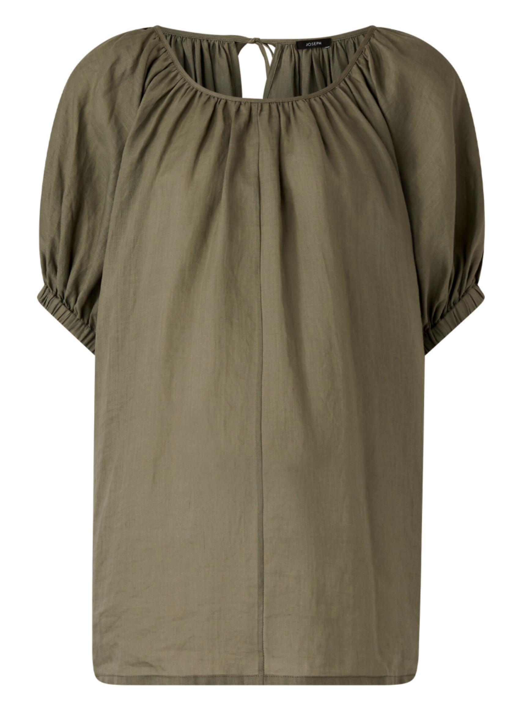 Joseph joseph baidy ramie vole short sleeve top , argile