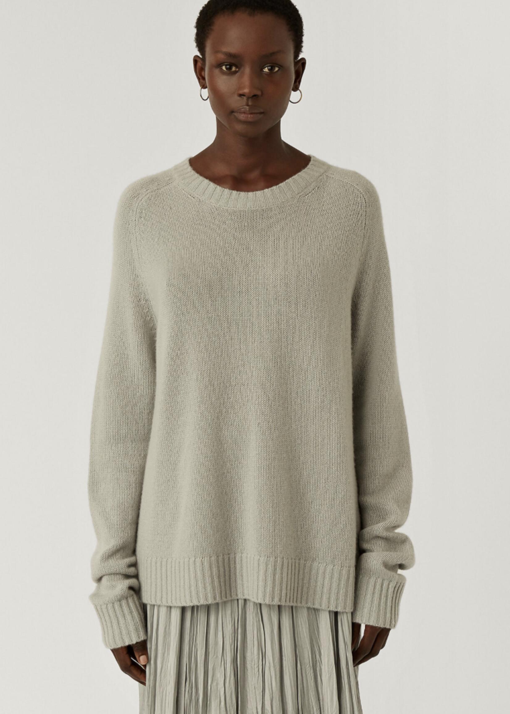 Joseph joseph rnd neck longsleeve cashmere pullover , cloud