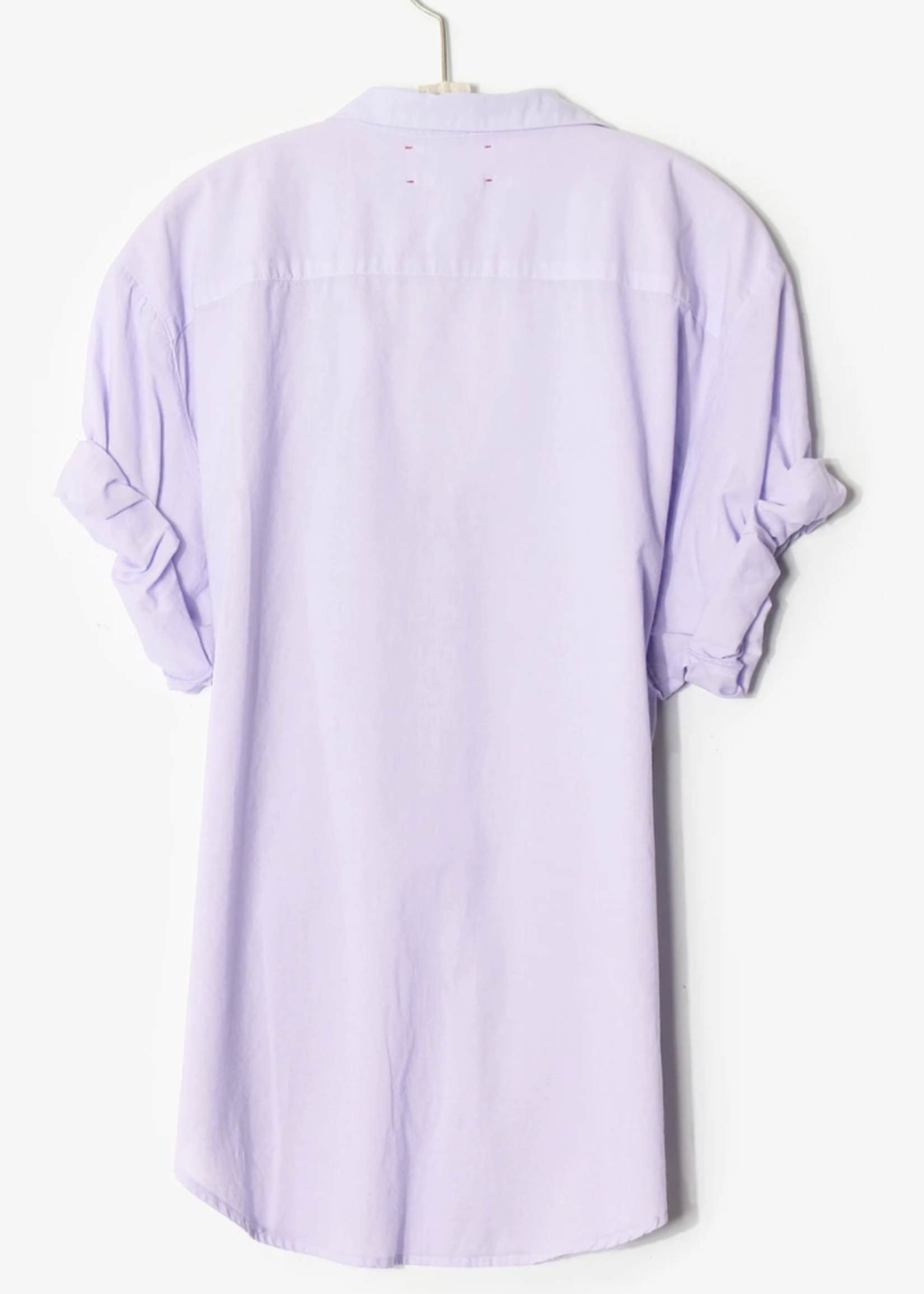 xirena xirena channing shirt lavender bloom
