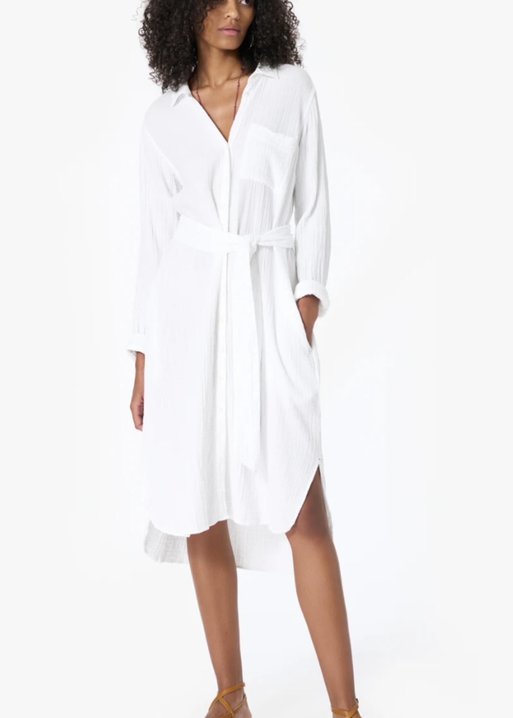 xirena xirena scarlyt dress white