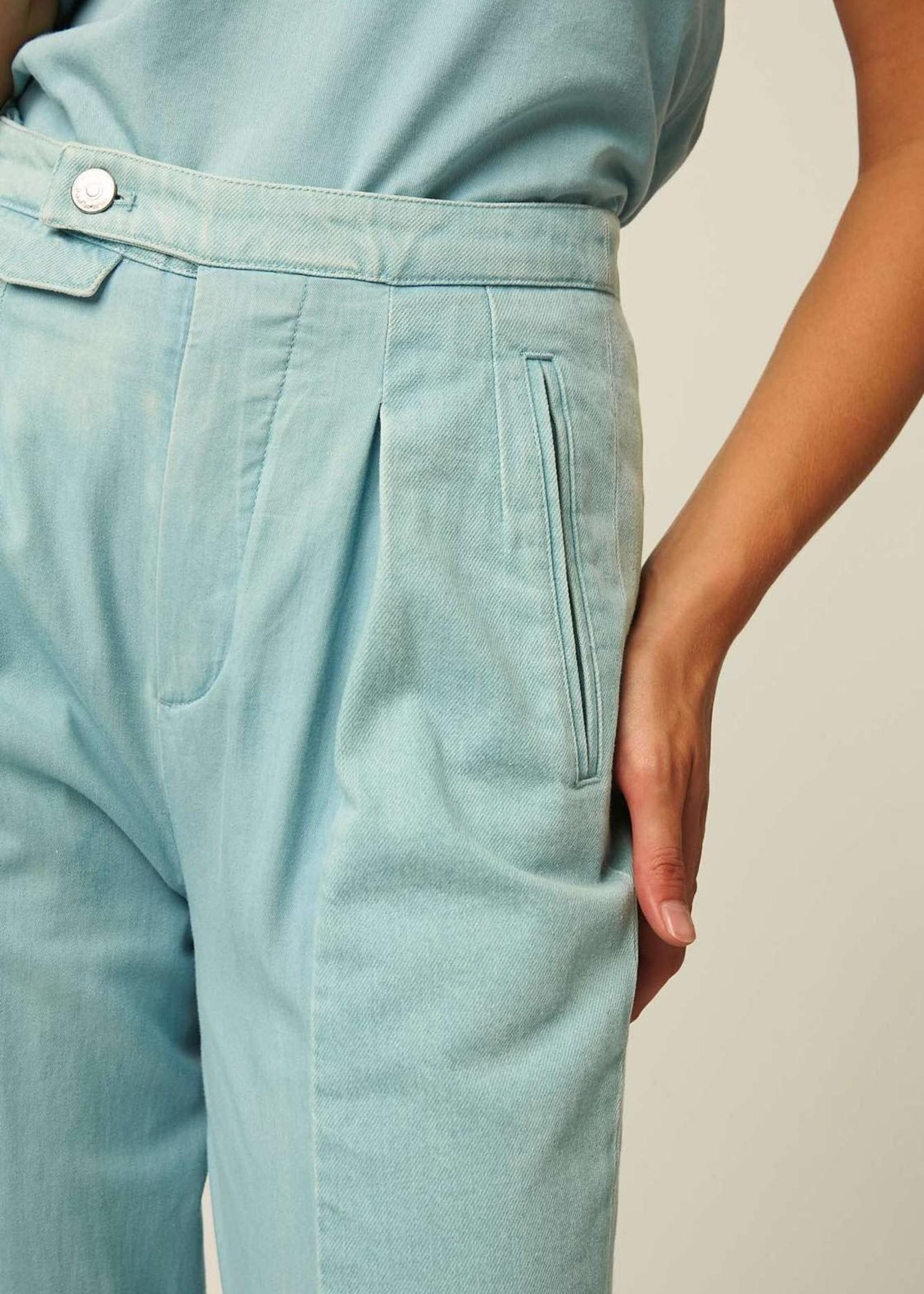 facon jacmin facon jacmin highwasted pants light blue