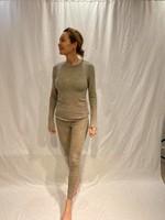 by basics by basics legging dawn grey melange