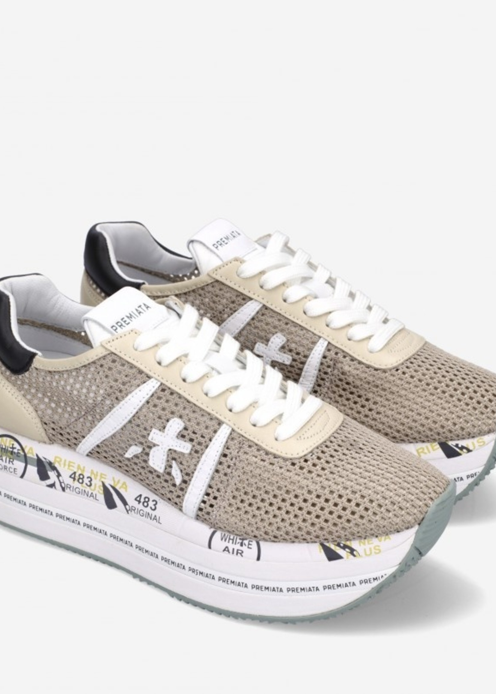 premiata Premiata sneakers Beth beige net