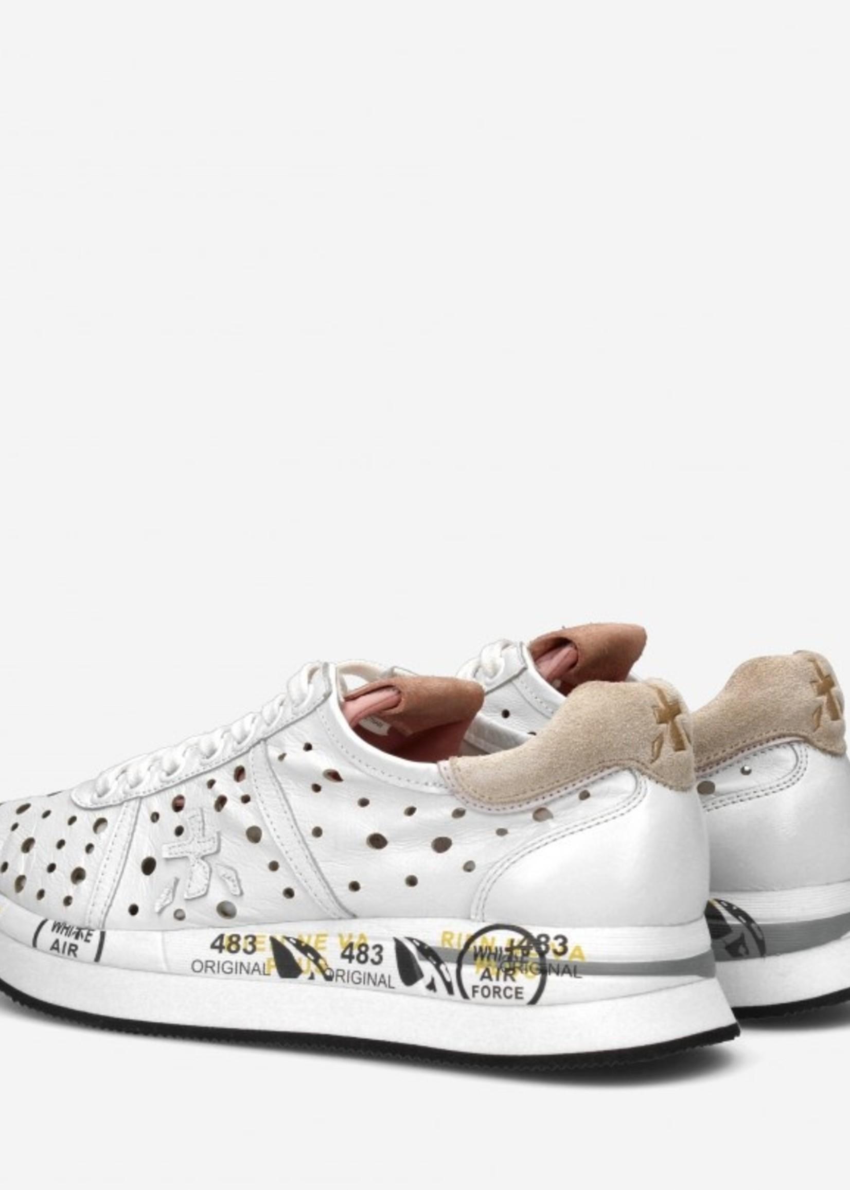 premiata Premiata sneakers Leather white/pink Wholes