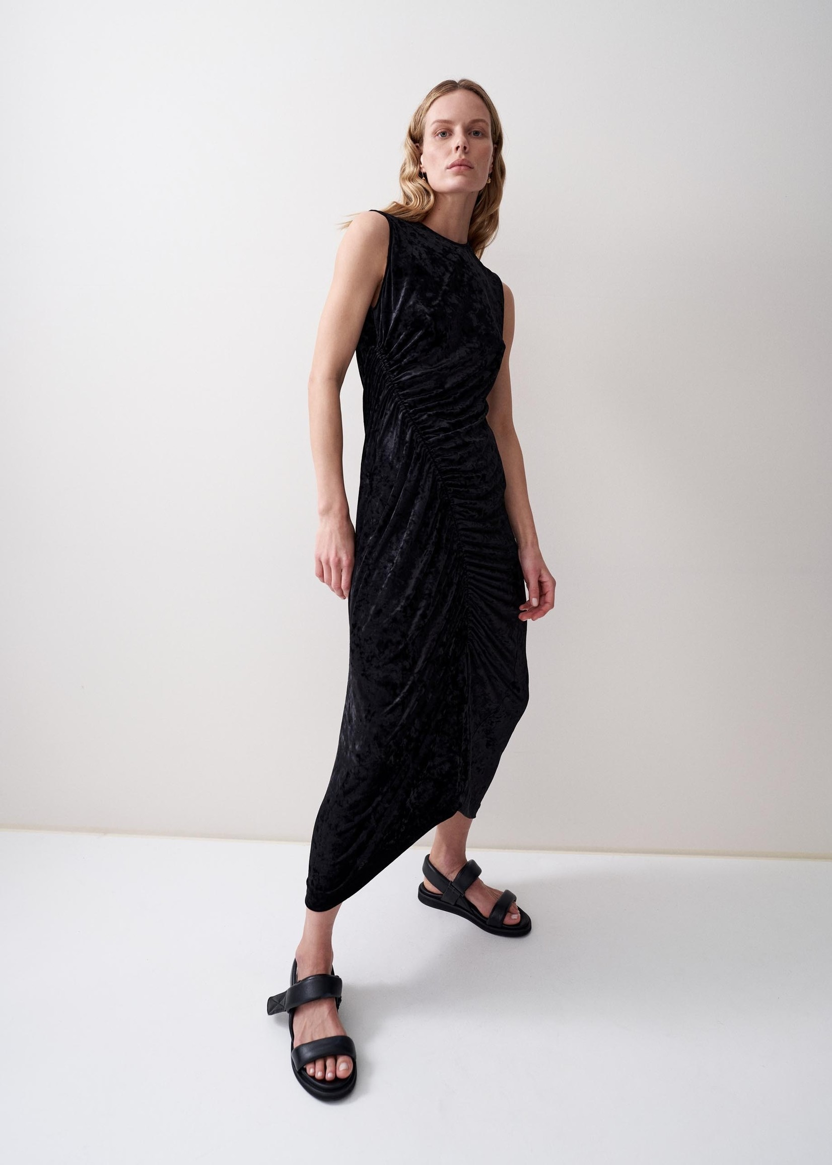 rikastudios rika studios olympia dress black s