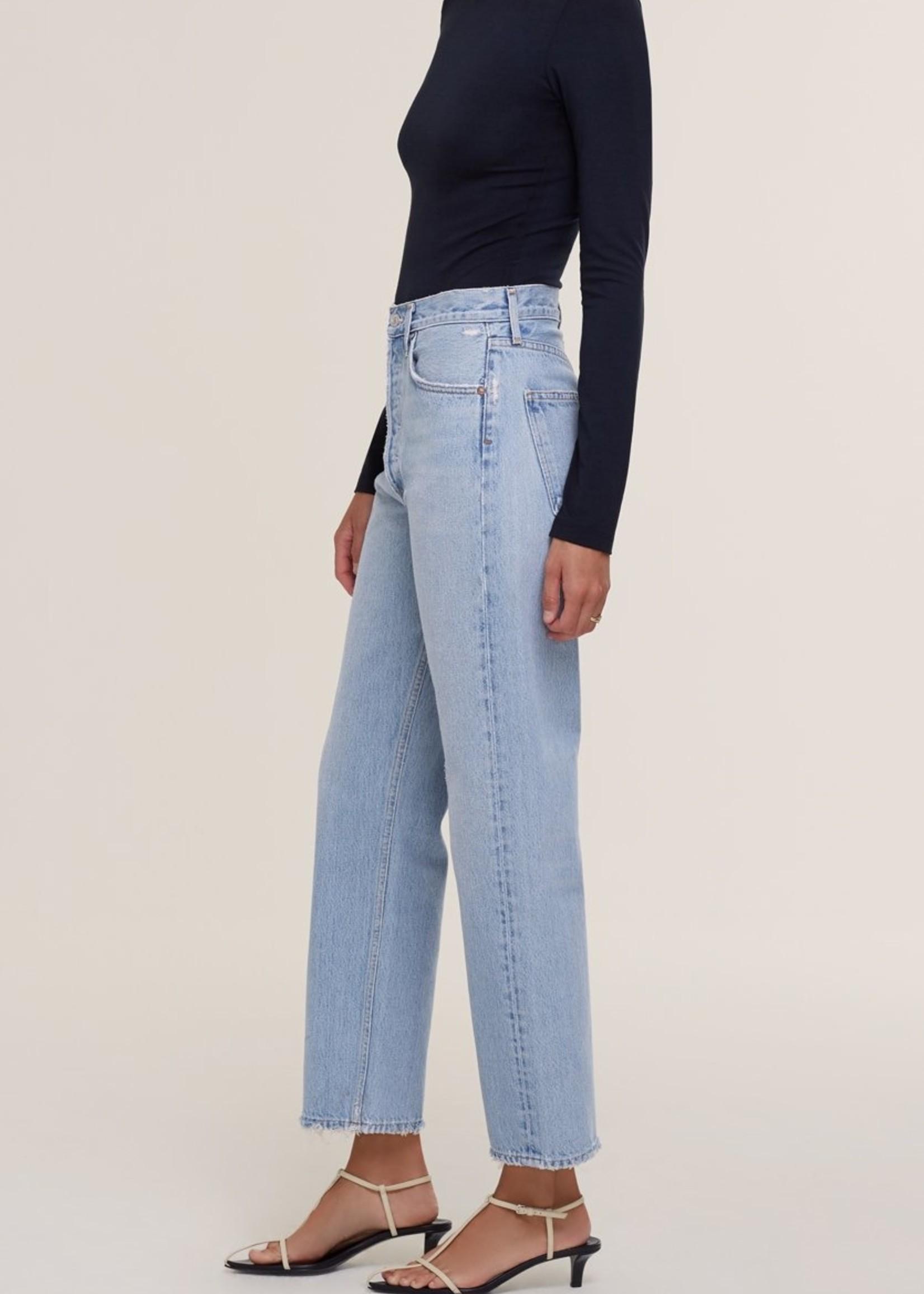 agolde agolde 90 s jean , semi tropic