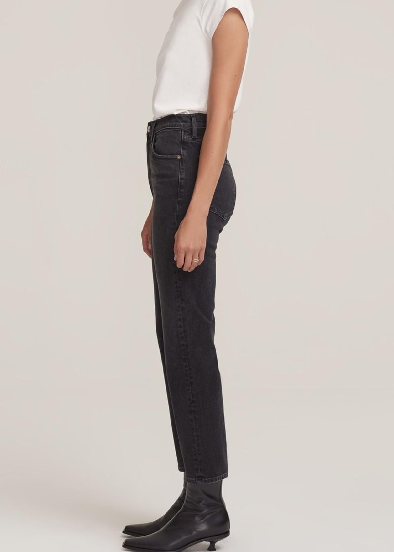 agolde Agolde wilder Jean comfort straight used black