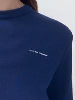 rikastudios rika studios tomorrow tee short sleeves blue print