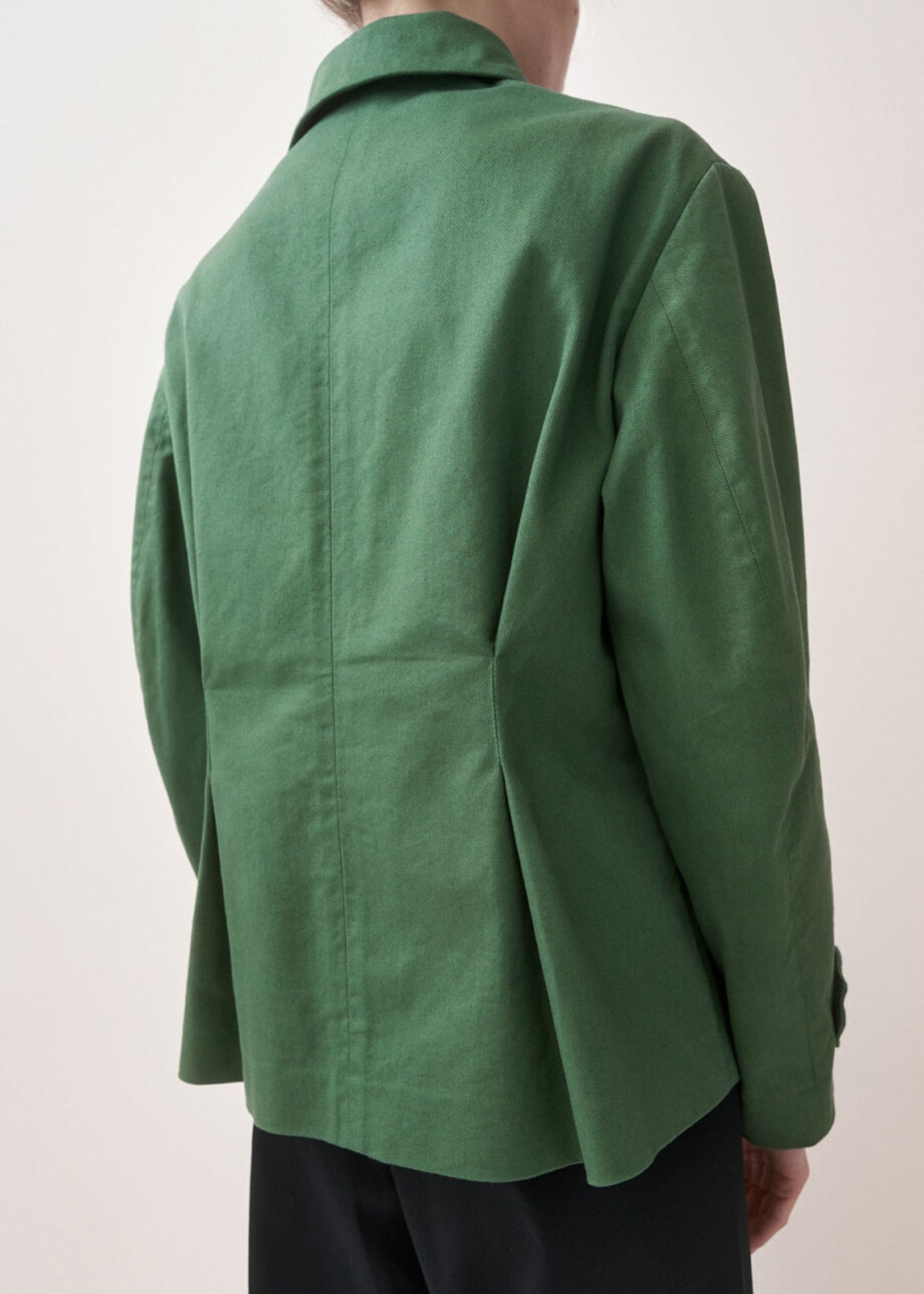 rikastudios rika studios bianca jacket army green