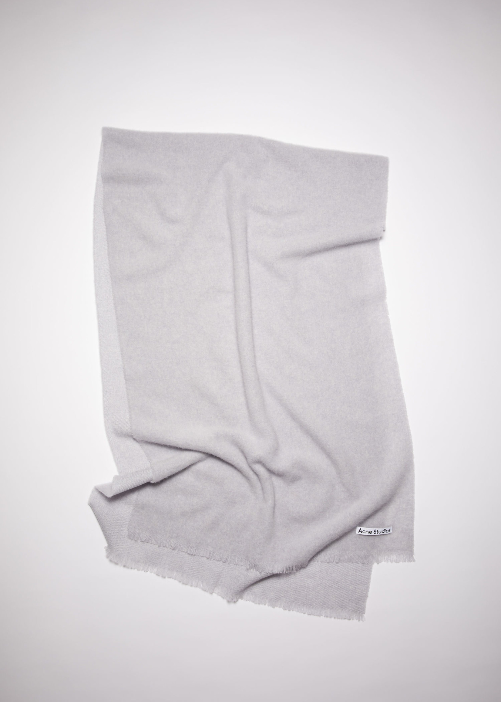Acnestudios Acnestudios  scarf light grey melange