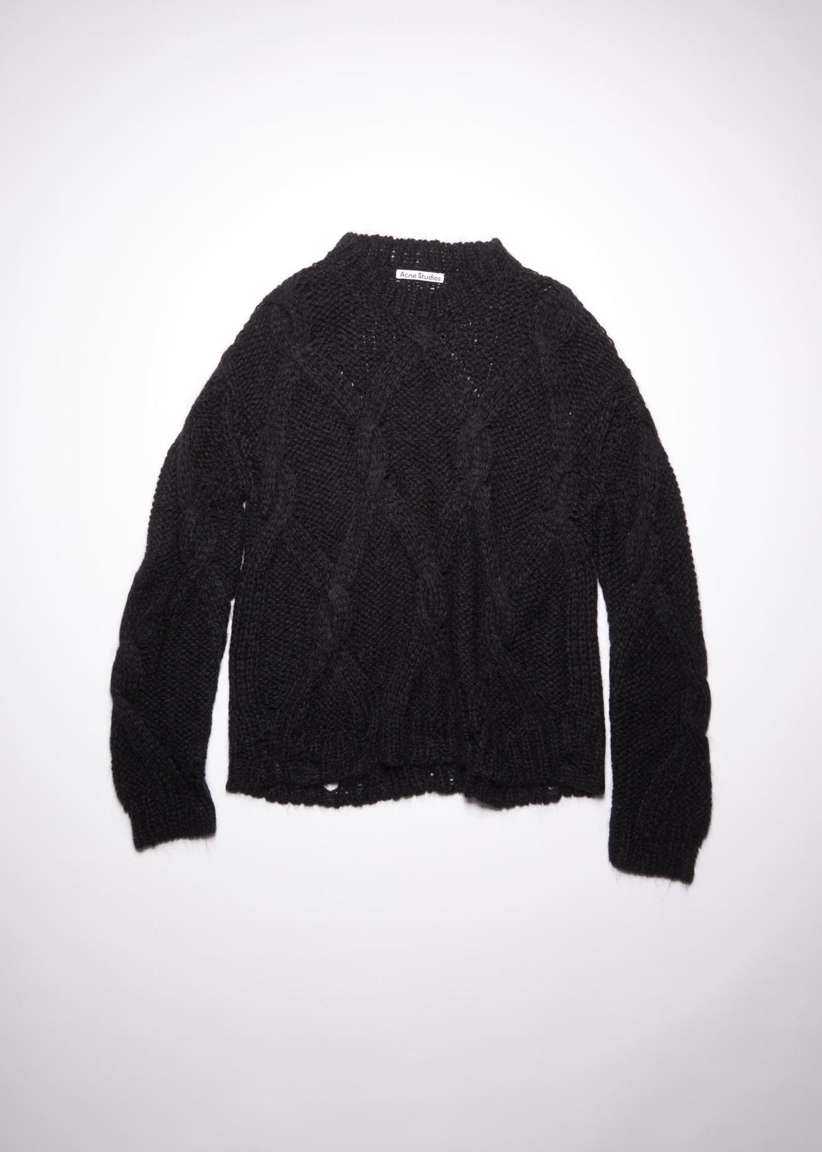 Acnestudios Acnestudios  chunky knit black