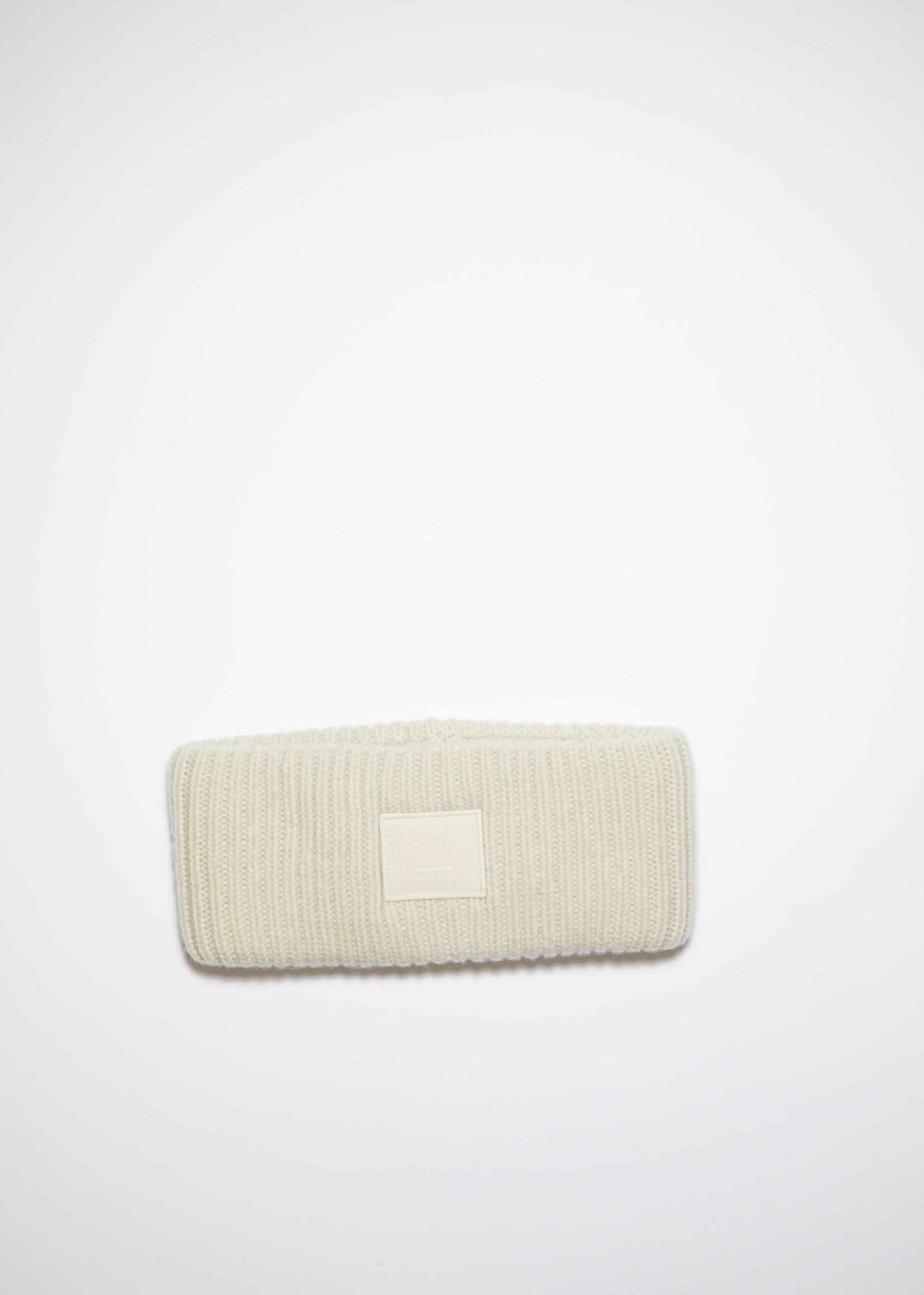 Acnestudios Acnestudios headband fancy face Cream beige
