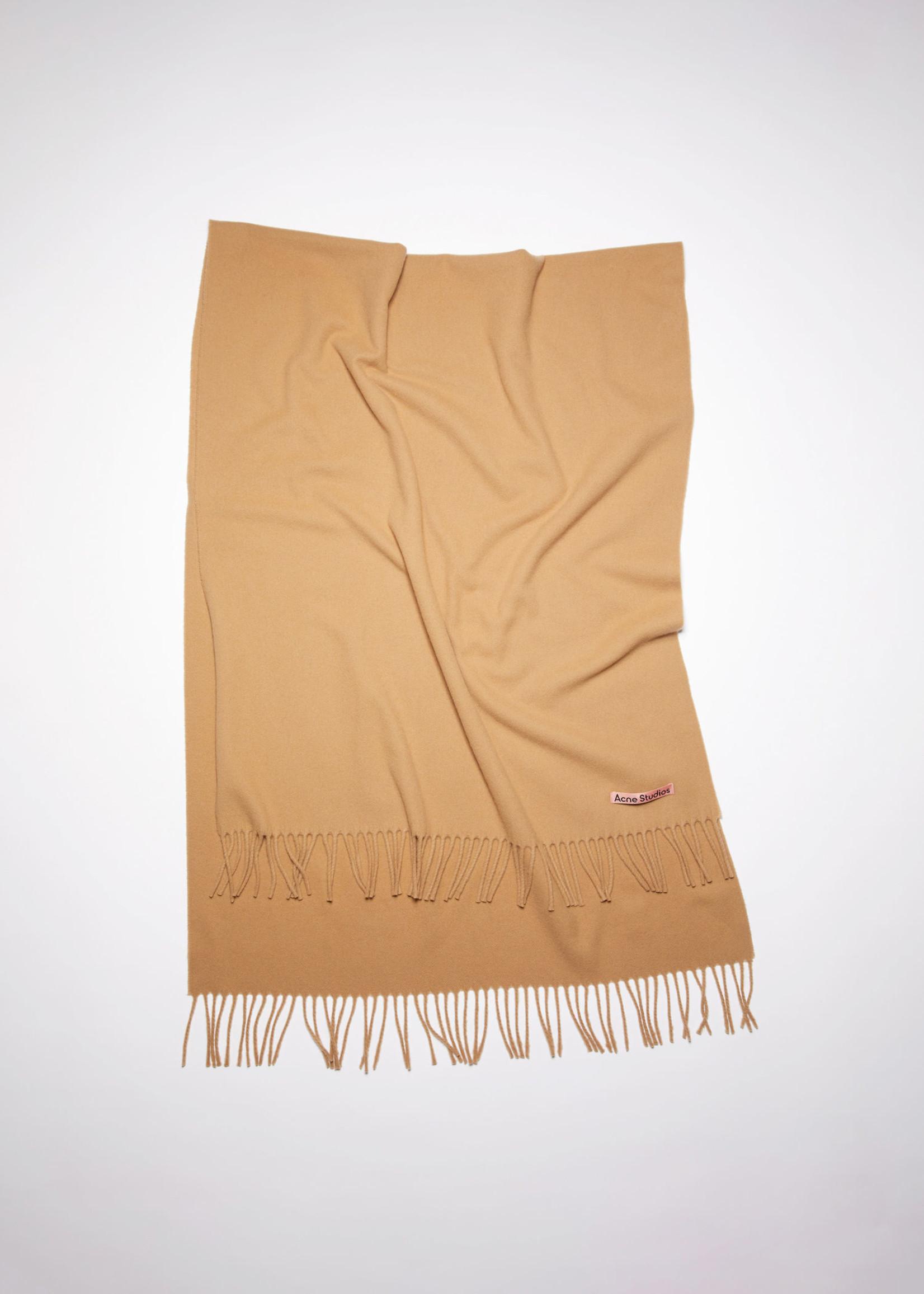 Acnestudios Acnestudios Canada new scarf dark camel