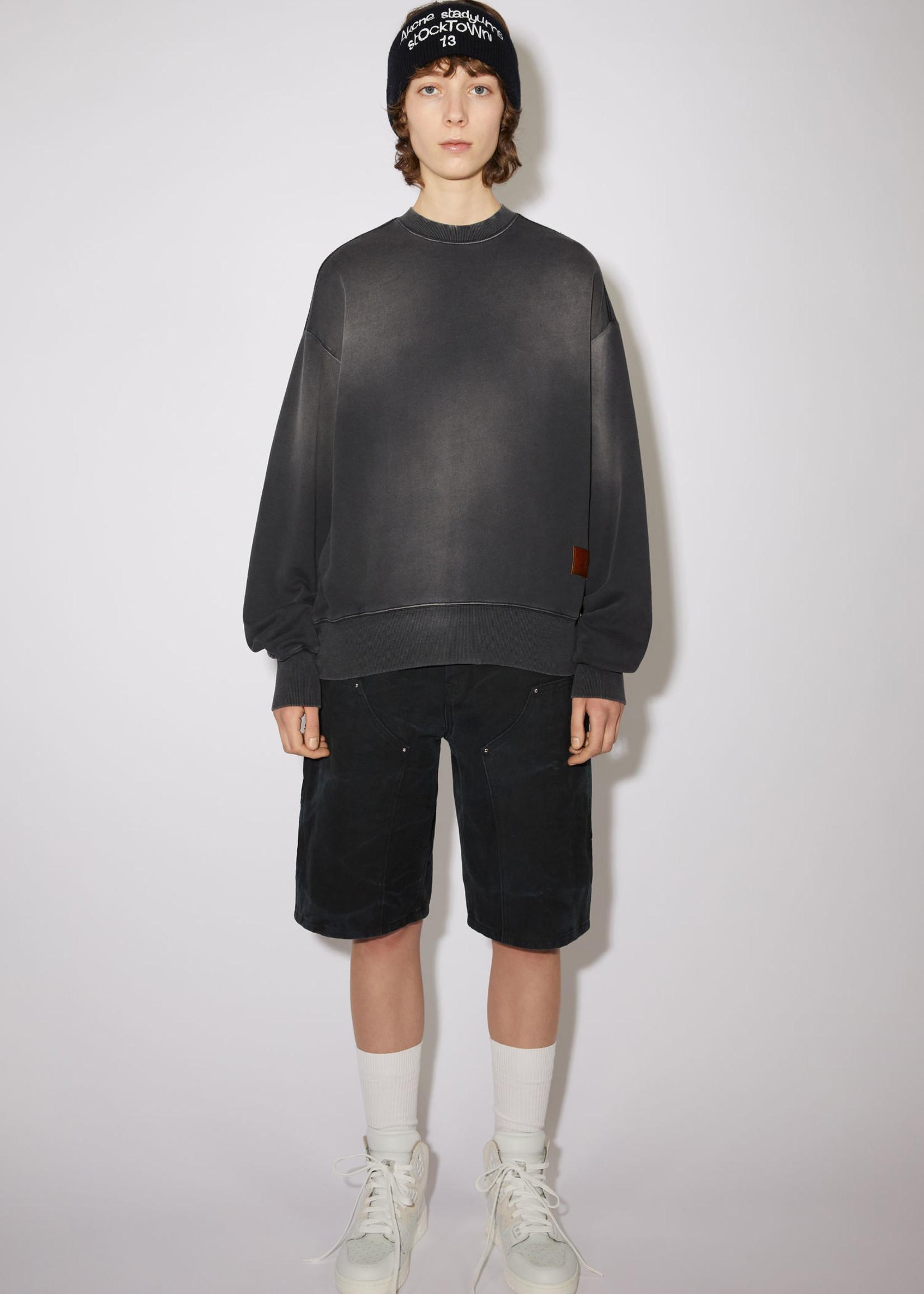 Acnestudios Acnestudios  sweatshirt face used  black