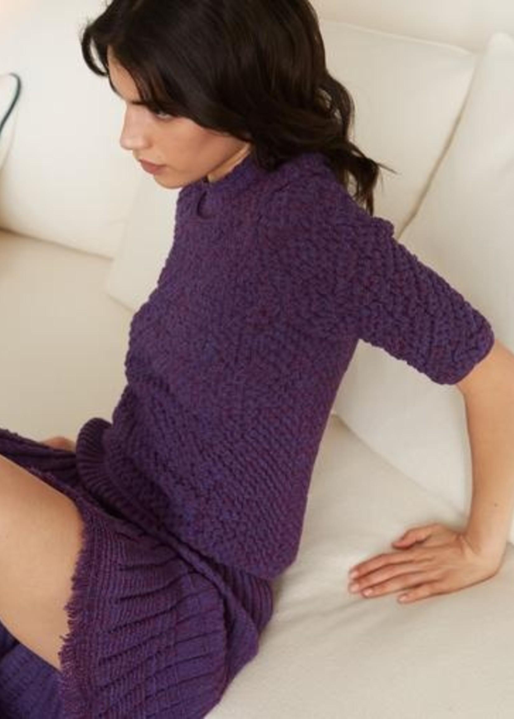 molli france molli france palmita skirt violet mouline