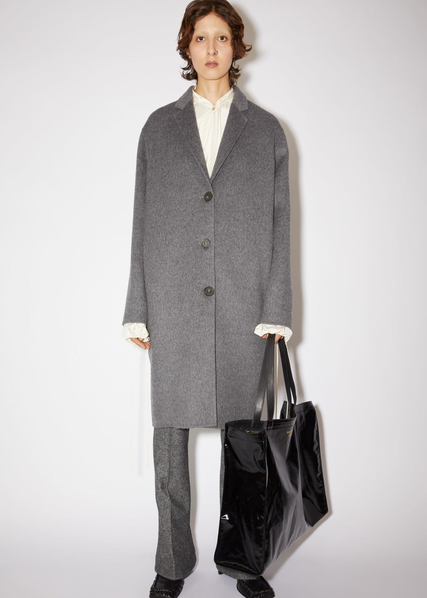 Acnestudios Acnestudios wool coat grey melange 36