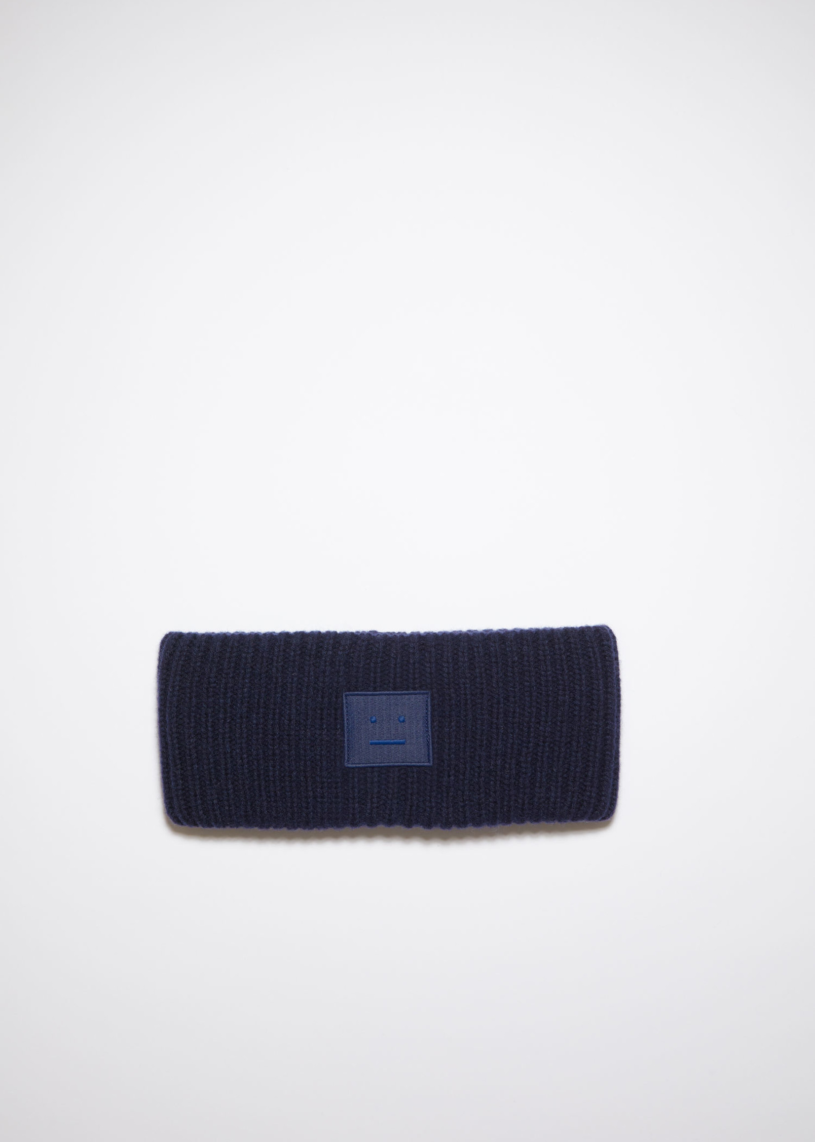 Acnestudios Acnestudios headband face navy