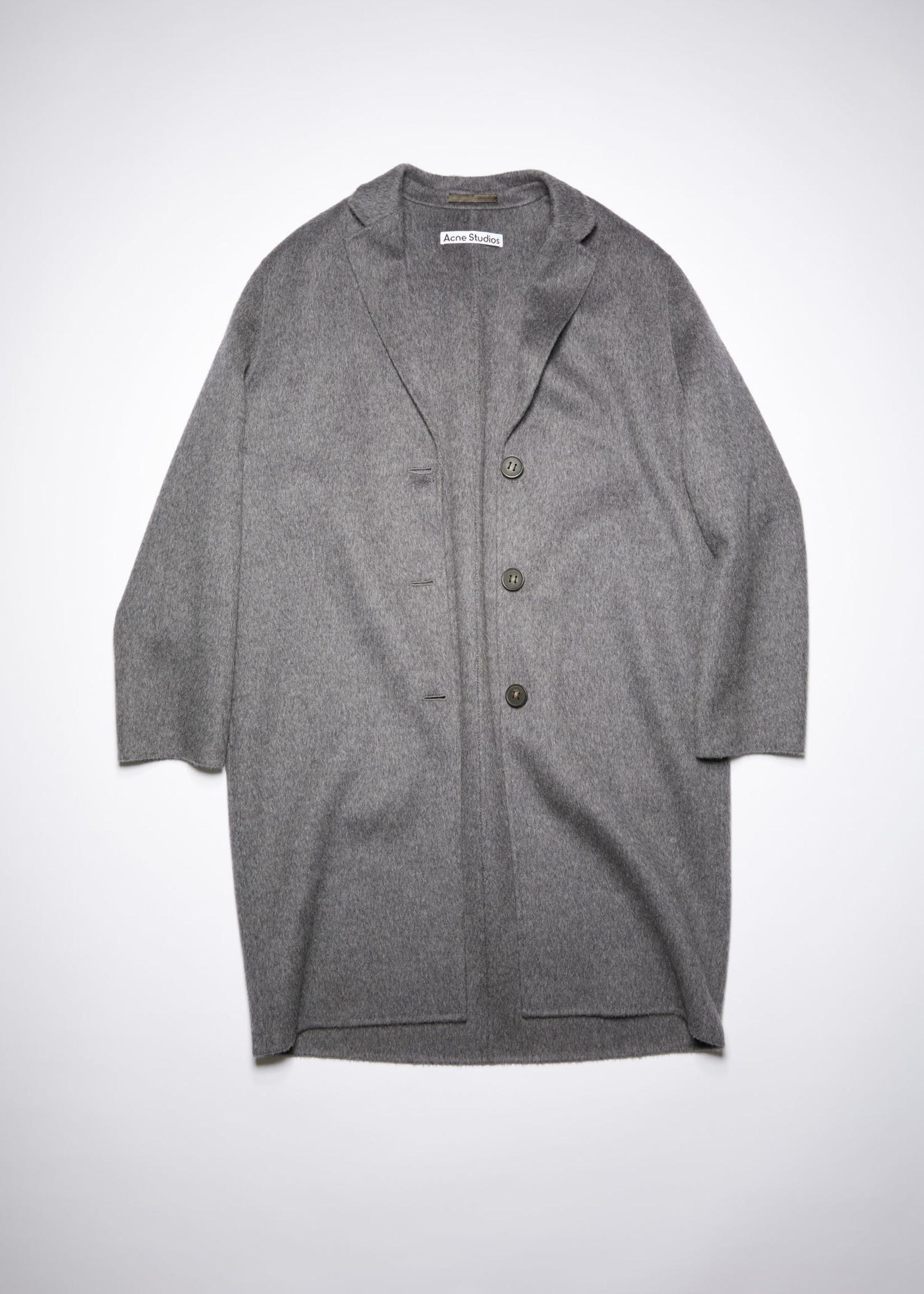 Acnestudios Acnestudios wool coat grey melange 38