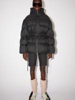 Acnestudios Acnestudios  hooded puffer coat black