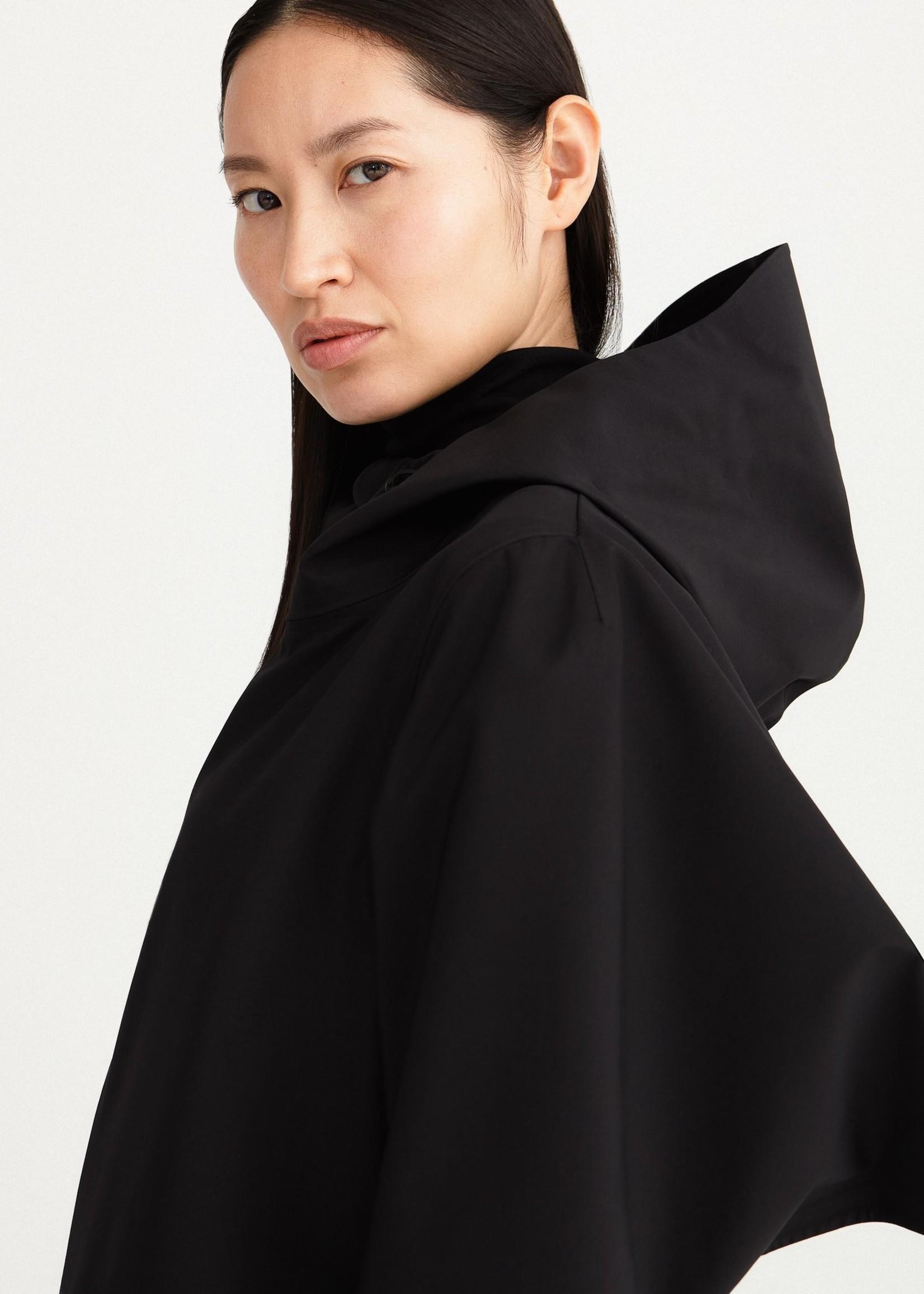 By Brown by brown wave raincoat  black