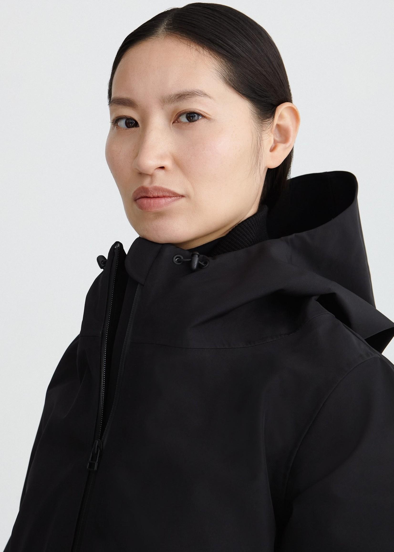 By Brown by brown raincoat spirit black L