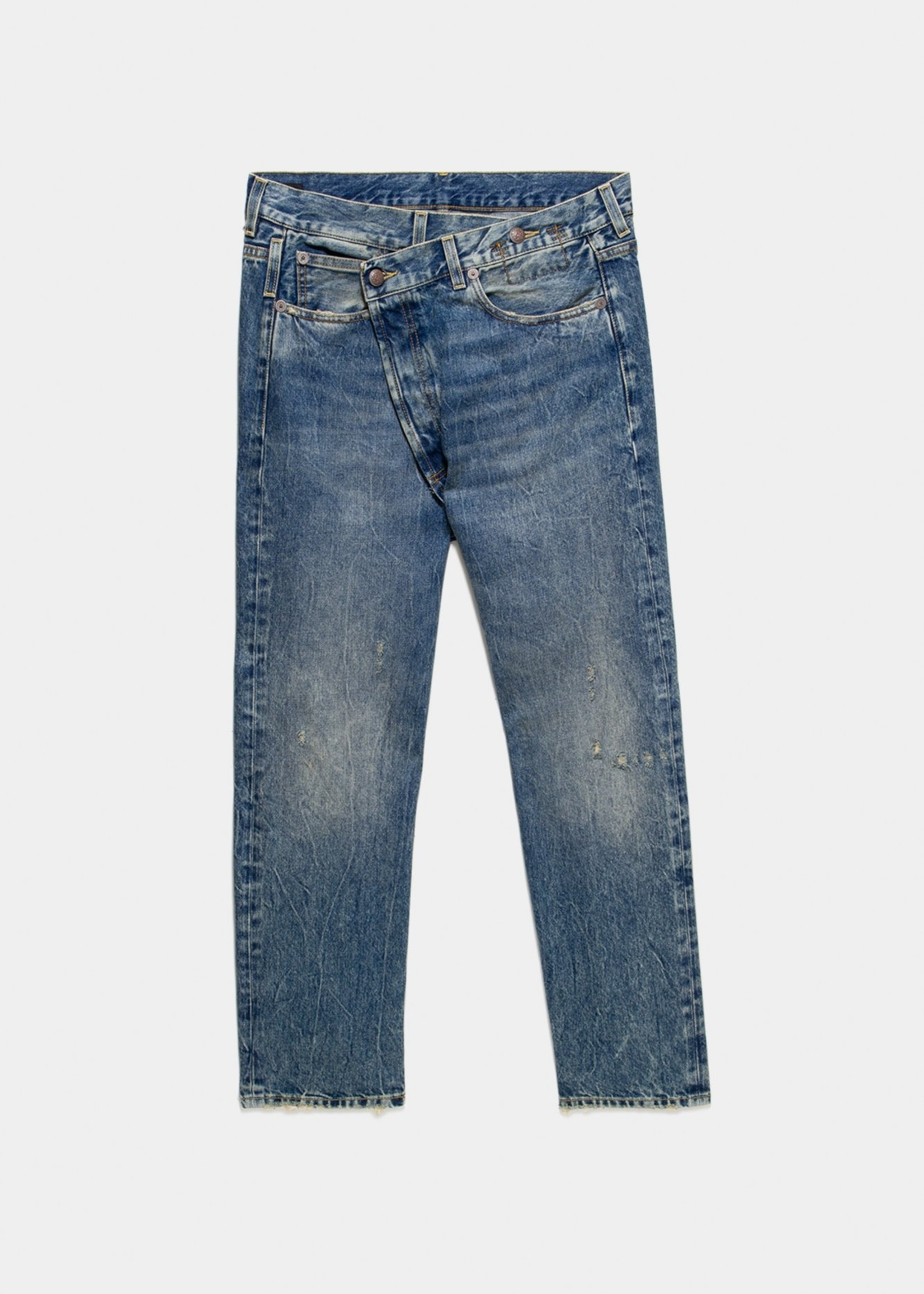 r13 R13 cross over jeans ,kelly
