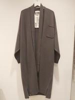 extremecashmere x extreme cashmere x coat , concrete