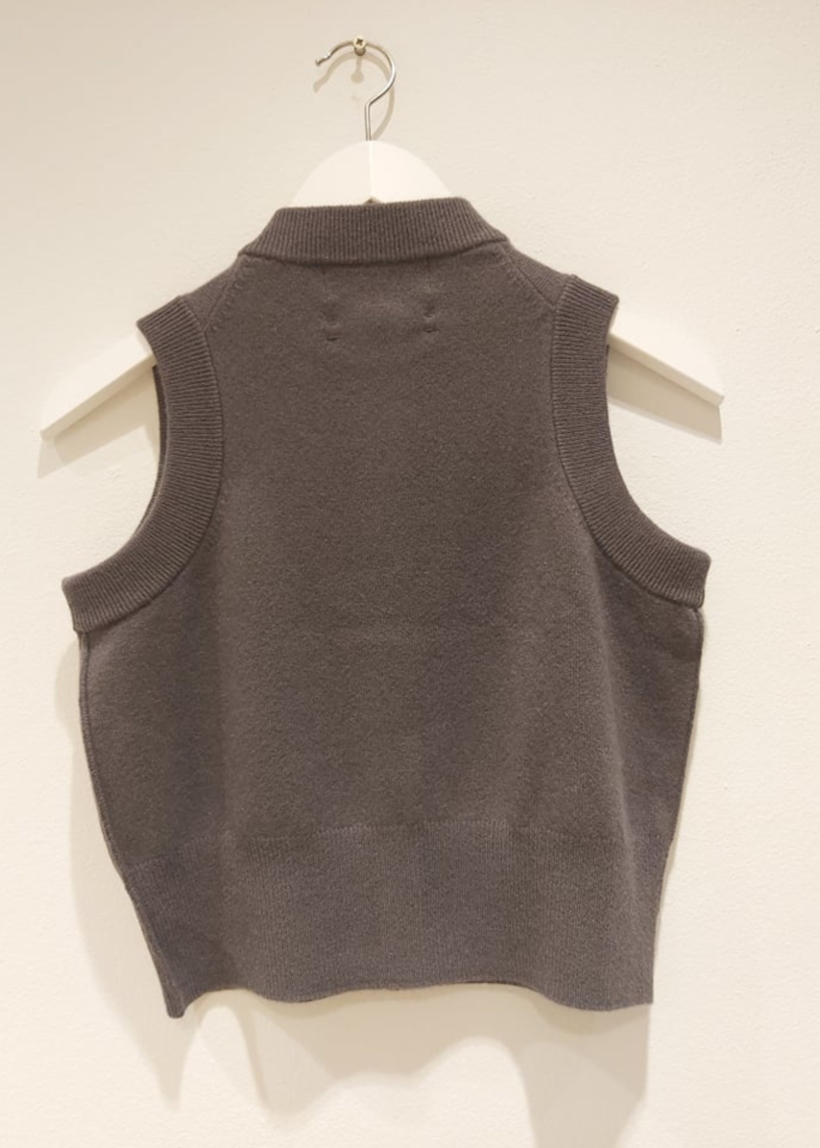 extremecashmere x extreme cashmere x corset ,concrete