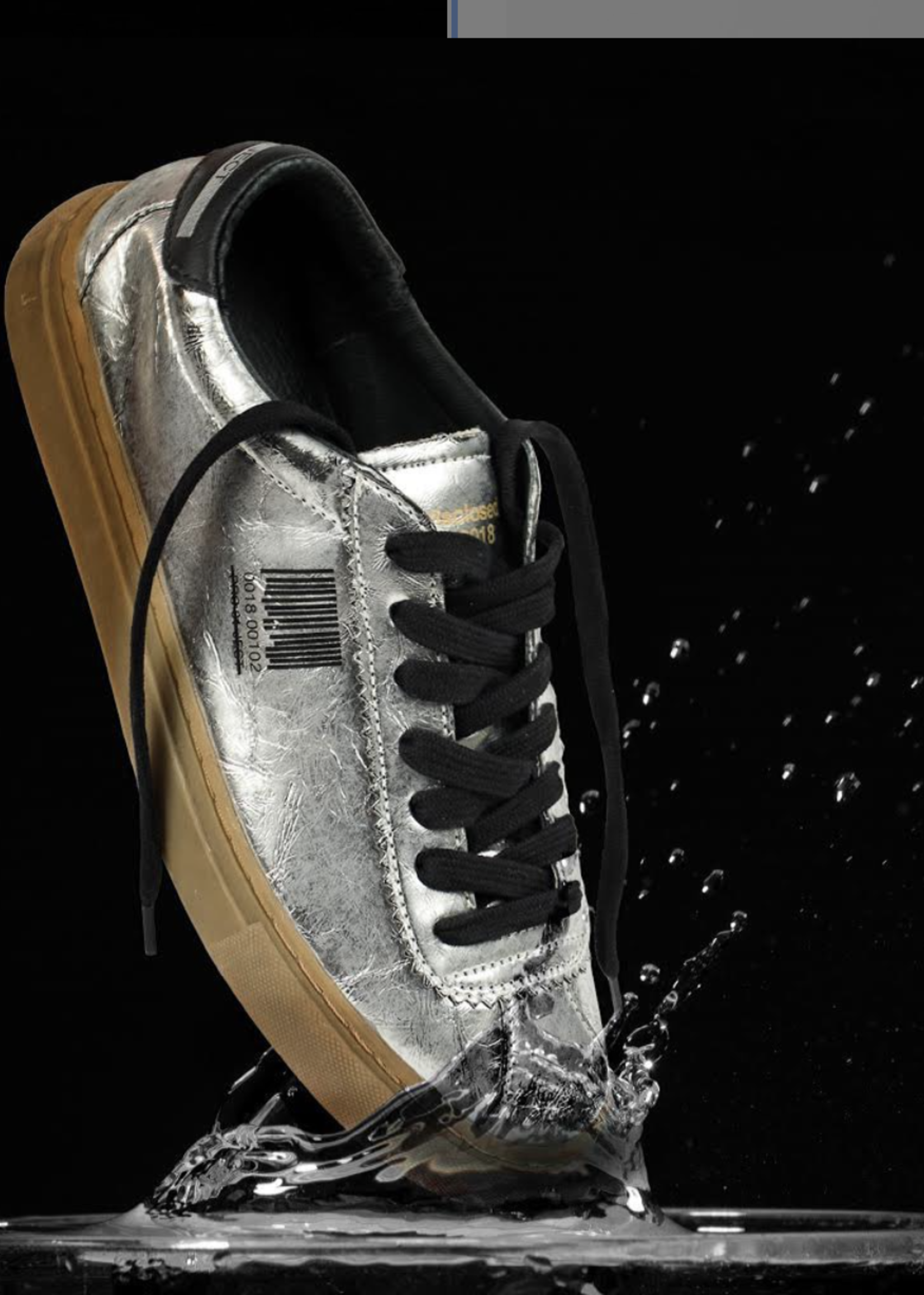 Project01 sneakers  Silver black
