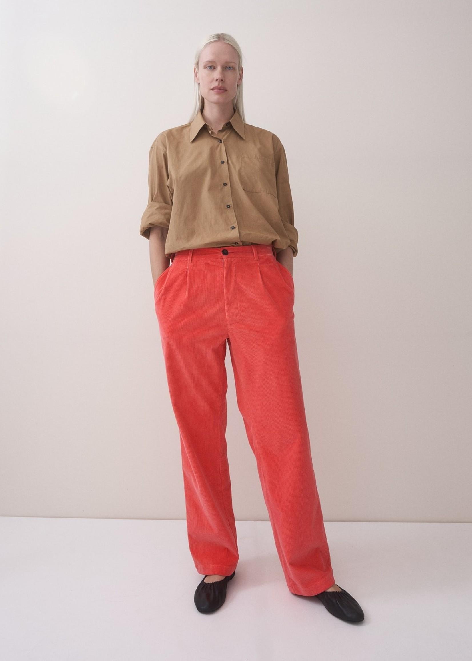 rikastudios rika studios polo pants cotton, hibiscus