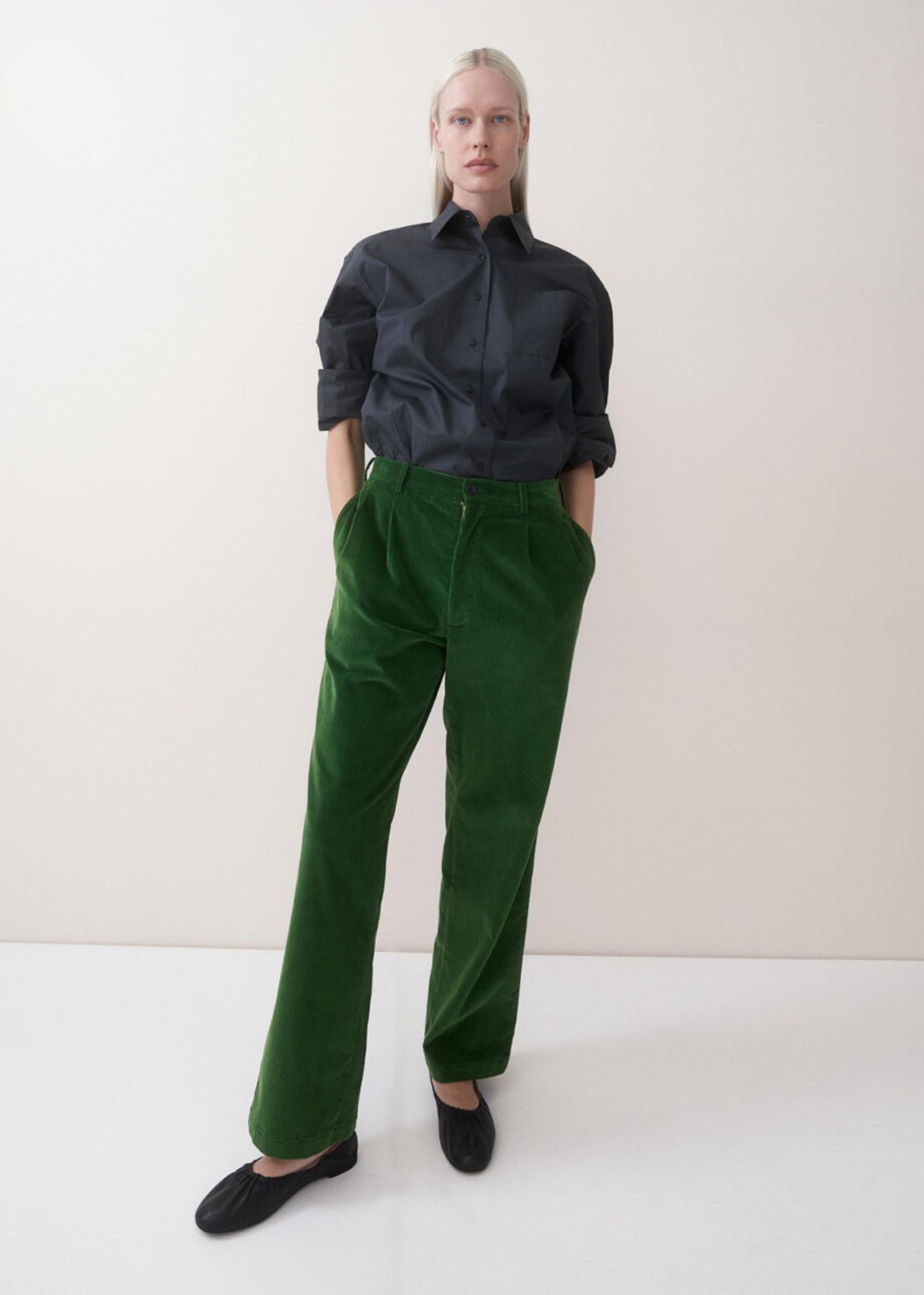 rikastudios rika studios polo pants cotton , basil