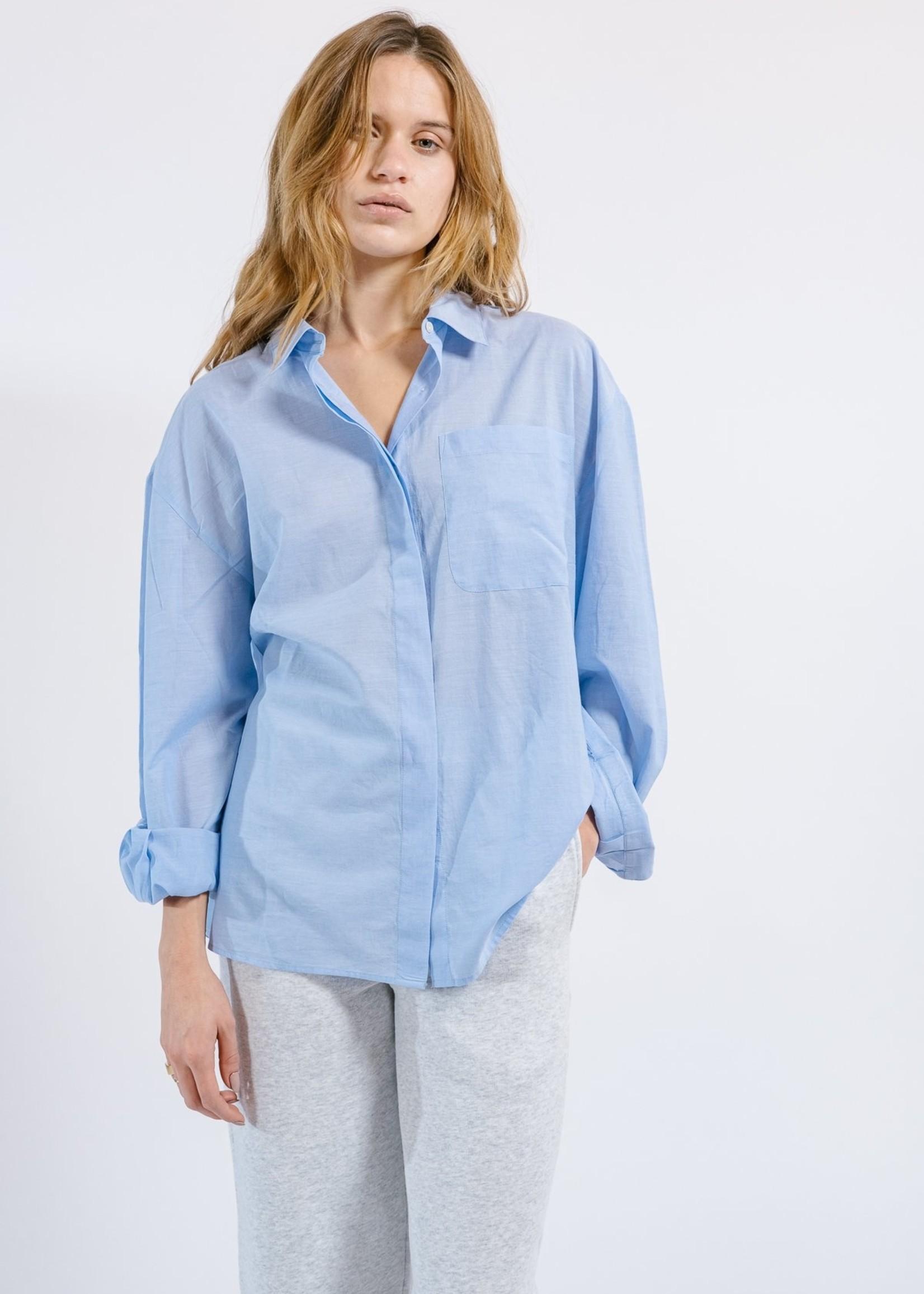 Ame ame antwerp  men s shirt light blue