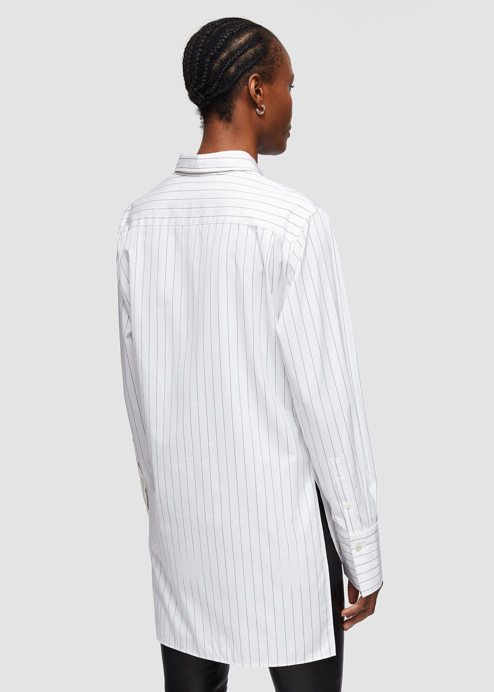 Joseph bold blouse poplin stripe