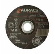 Abracs 125 x 1.0 x 22 mm doorslijpschijf inox/metaal(voordeelpak)
