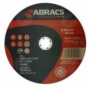 Abracs 230 x 1.8x 22 mm doorslijpschijf inox/metaal