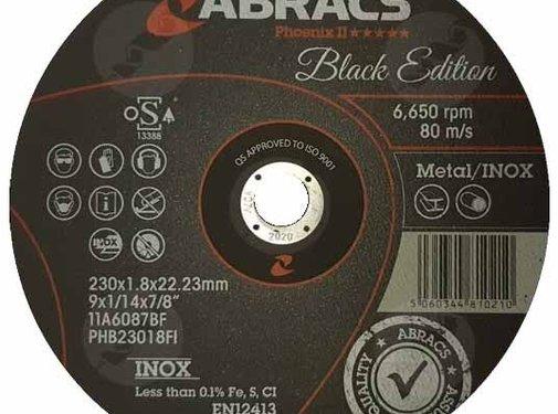 Abracs 230 x 1.8 x 22 mm doorslijpschijf  inox/metaal