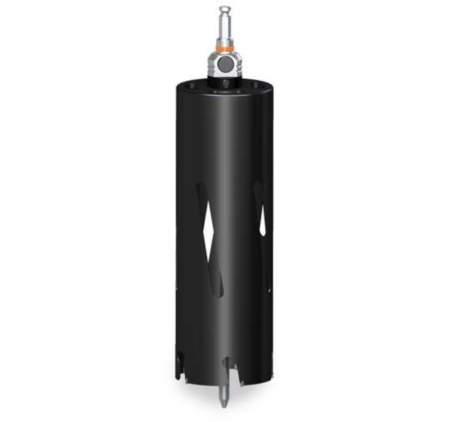 Dakdoorvoerboor 102x300mm incl. | incl. MXqs adapter excl. centreerpin